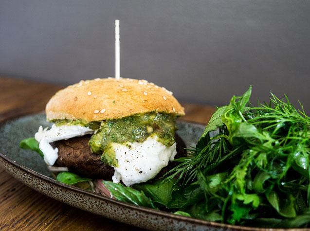 Kochstudio Bilou Portobello Burger Foodblog