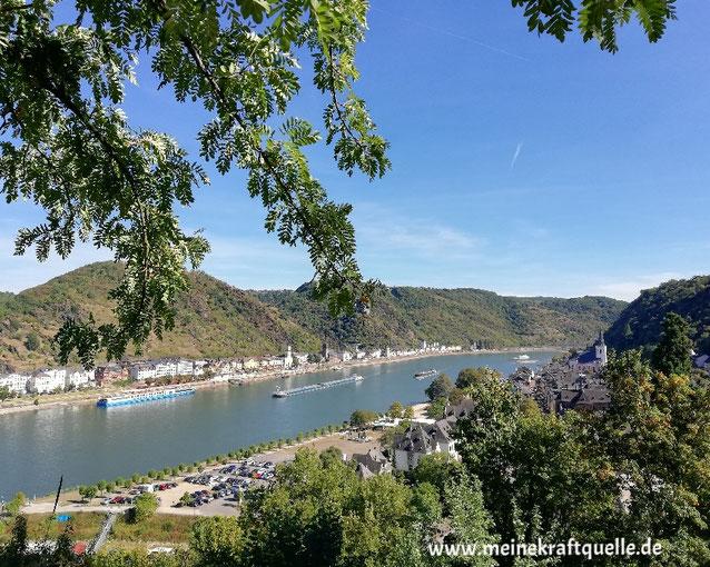Mut zur Selbstfindung, Kraftquelle, Auszeit im Paradies, Herbst, Herbstbeginn, St. Goar, am Rhein, Rheinebene