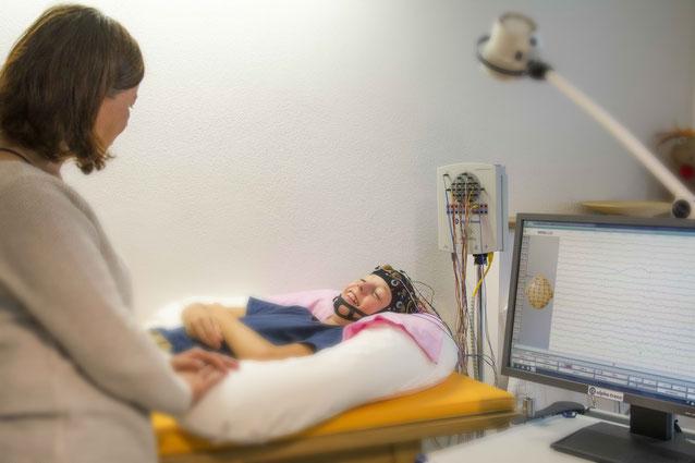 EEG Prien Kinder Neuropädiatrie