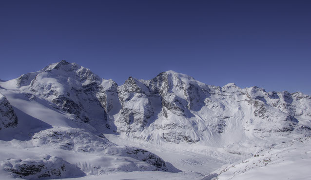 Il massiccio del Bernina... oltre 4000 metri