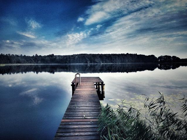 See Wasser ruhe Entspannung Weite