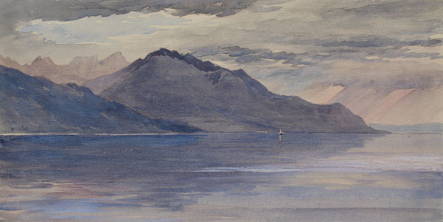 Thomas Burton Watkin Forster, TBWF Karl Lang Archiv Büsingen Aquarell watercolor