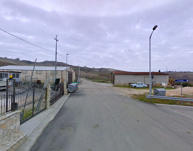 Pietramontecorvino Via S. Pardo