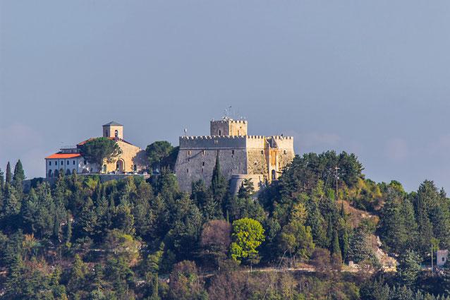 Campobasso Chiesa Madonna del Monte e Castel Monforte