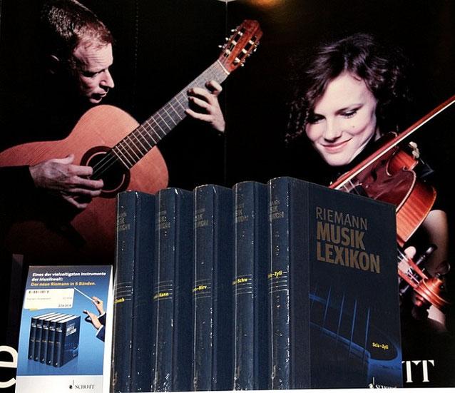 Musikbücher, Lexika, Musiker-Biografien - neu und antiquarisch