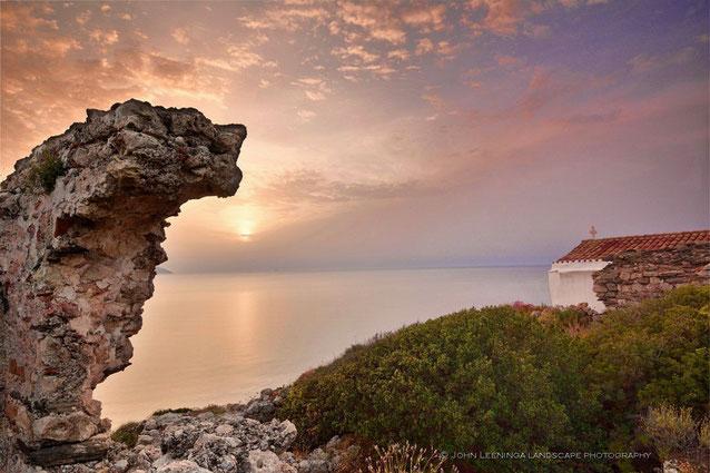 483 Griekenland Kythira kerkje bij Agia Pelagia