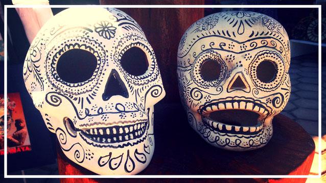 Mexiko. Backpacking. Dia de los Muertos.