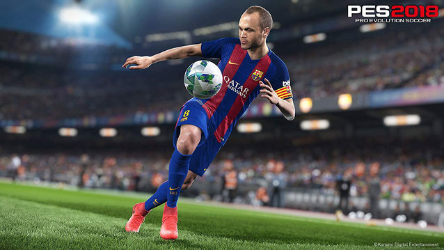 PS3 Sportspiele: Pro Evolution Soccer 2018