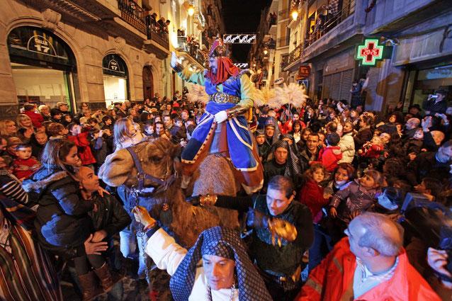 Праздник Трех Королей - Барселона