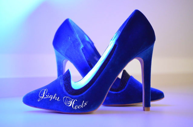 Light Heels LED Schuhleuchte blau
