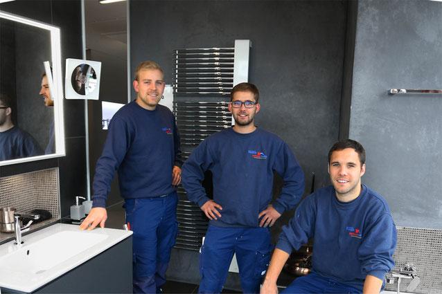 Das Team vom Meisterbetrieb Friedrich aus Bielefeld #WirsindHandwerk