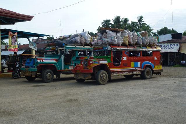 A Jeepney in New Corella, Minadanao, the Philippines