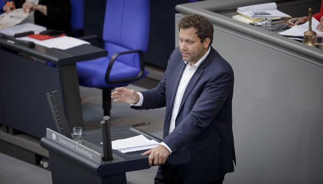 Lars Klingbeijl, lid van de Bondsdag namens SPD, tevens algemeen secretaris van die partij
