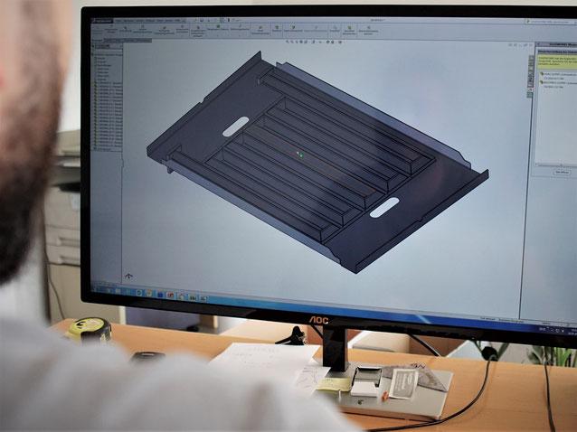 Zeichnung, .dmg, verschachteln von Zeichnungen für das Laserschneiden in der Blechverarbeitung eines Metallbauunternehmens