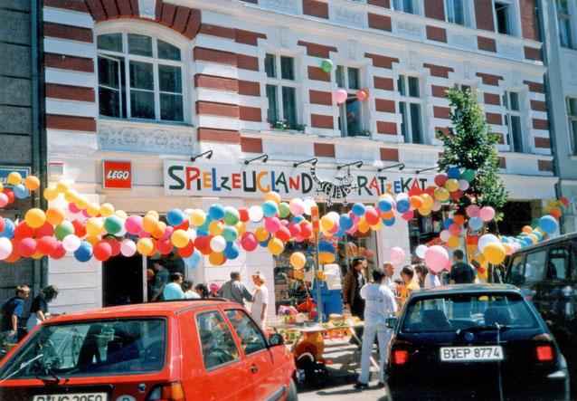 Eröffnung Ratzekatz Richardstraße