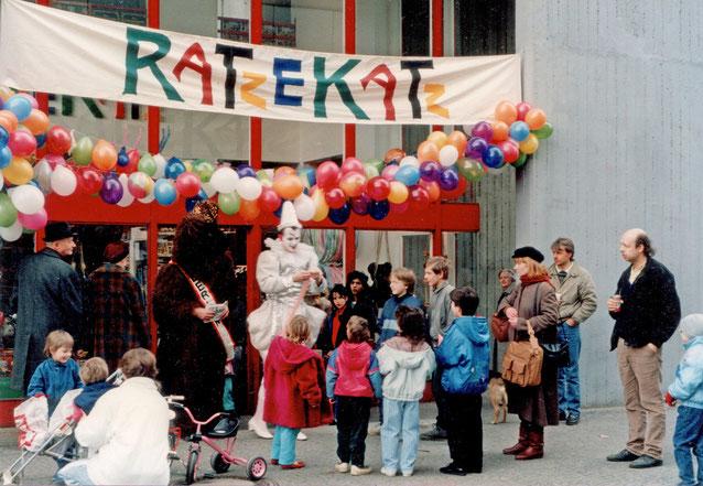 Eröffnung Ratzekatz Friedrichstraße