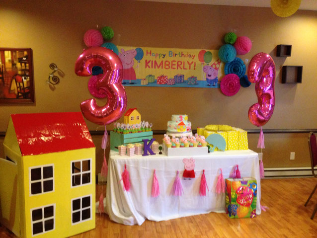 Decoracion Fiesta de Peppa Pig