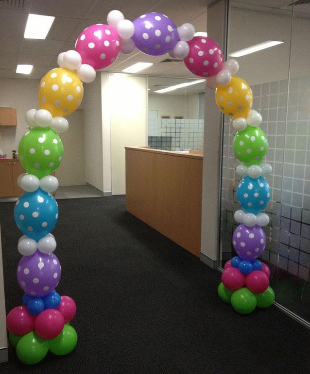 arco de globos bipolo