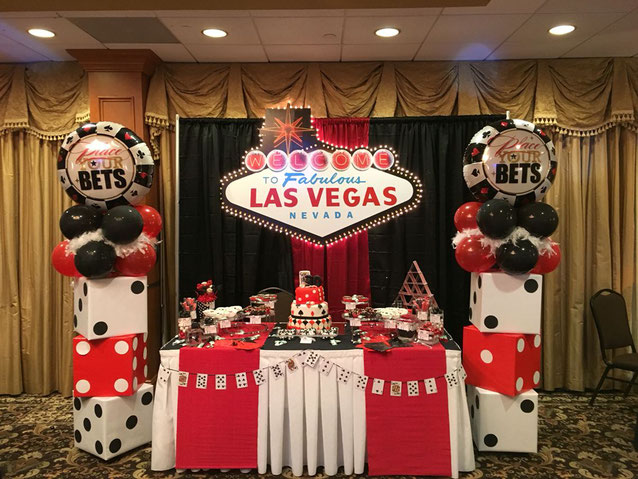 mesa de dulces fiesta casino