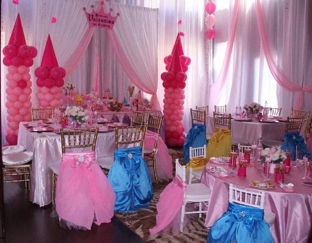 decoracion para cumpleaños de niña