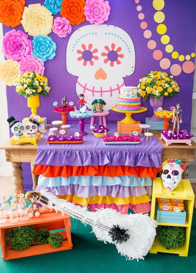 fiesta coco decoracion