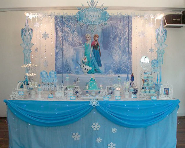 ideas fiesta de frozen