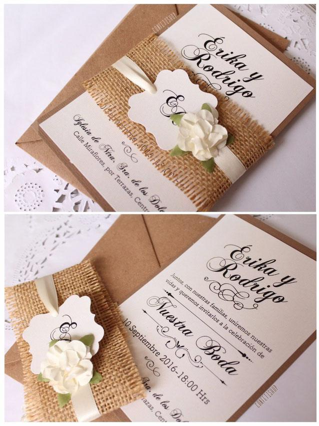 como hacer tus invitaciones para boda
