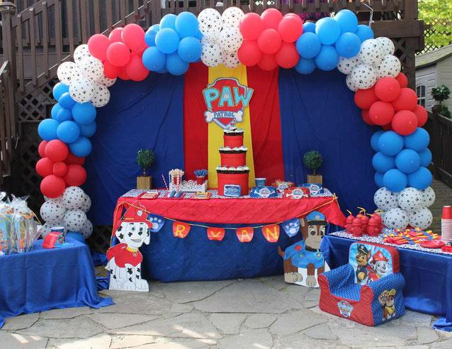 decoracion cumpleaños patrulla canina