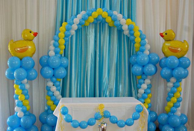 decoracion bautizo de niño