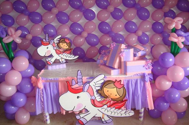 arreglo de fiesta para niña