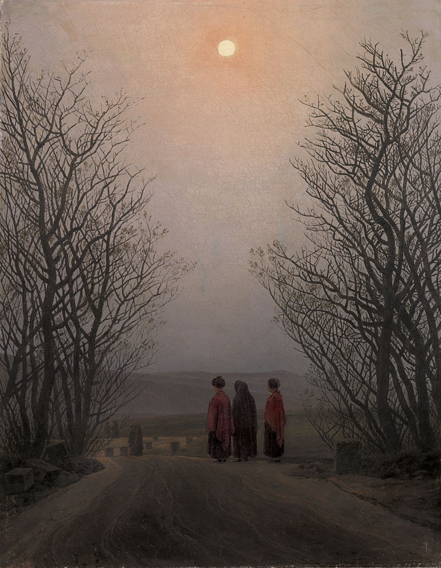 "Caspar David Friedrich, ""Mattino di Pasqua"" (1830-1835)"