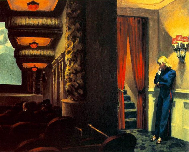 "Edward Hopper, ""New York Movie"" (1939)"