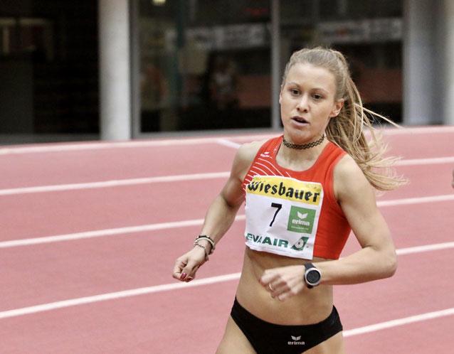 Julia Mayer Staatsmeisterin ölv Austrian athletics linz gugl 3000 Meter sandrina illes eva wutti indoor track and field Dsg wien
