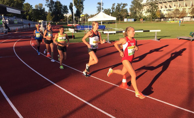 Staatsmeisterin Julia Mayer 10.000 Meter Wien LAZ Austrian Athletics Österreichische Staatsmeisterin Staatsmeisterschaften