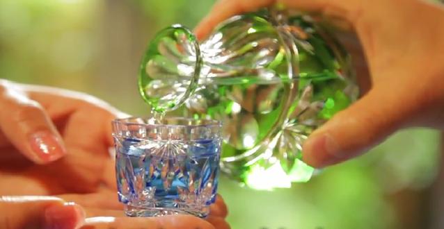 EDO KIRIKO cut glass