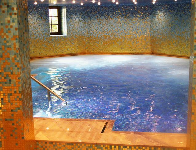 Einbau eines Schwimmbades in bestehendem Wohnhaus