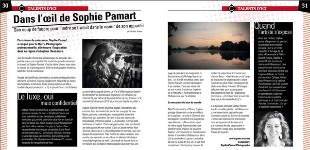 31/01/2017 : Dans l'œil de Sophie Pamart - Carré Barré