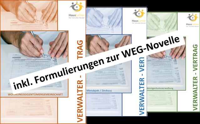 Muster Verwalter Vertrag Hausverwaltung Produkte Vorlagen Muster
