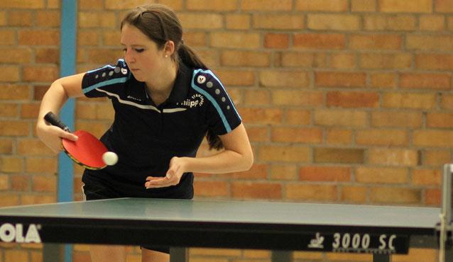 Jana Siegmund verlor alle ihre Spiele im fünften Satz.