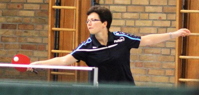 Daniela Kos war mit zwei Einzelsiegen beste Hülserin in Freckenhorst.