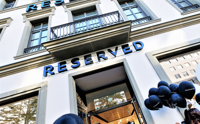 Der Reserved Store in Manheim // GETTY Images/ Thomas Lohnes für RESERVED