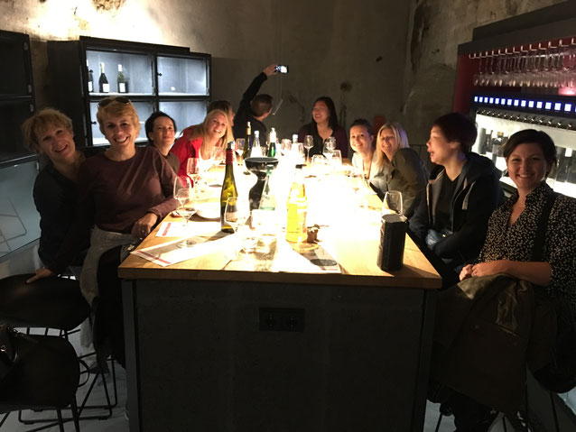 Dégustation de vins allemand