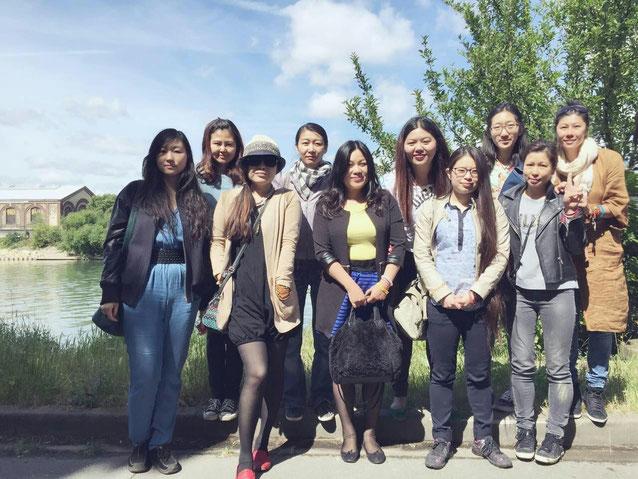 Mai 2015 L'équipe de libération au service