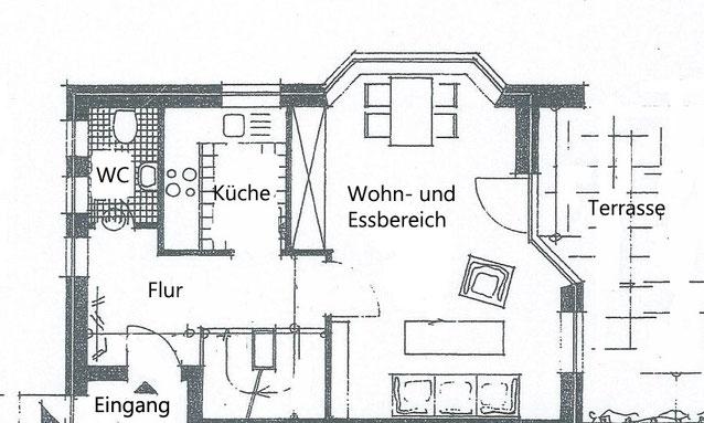 Ferienwohnung Nis Puk Norddorf Amrum Erdgeschoss