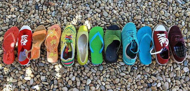 sandalias de trekking