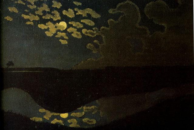 《月光》1894-1895年
