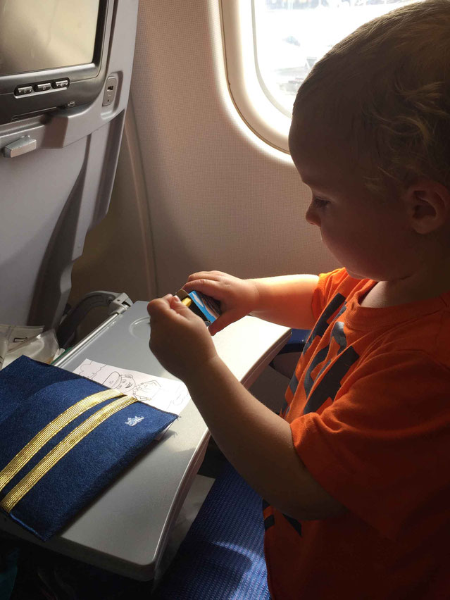 Toddler Activities for Air Travel