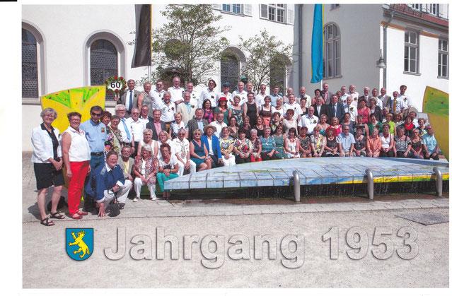 60er-Jahrgänger / Gruppenbild .  .  .  .  . (Foto: S. Belicka)