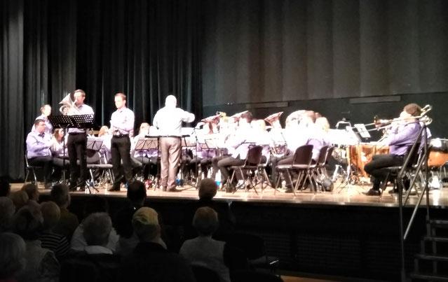 Brass Band Willebroek beim Galakonzert zum 190 jährigen Jubiläum des Städtischen Musikvereins Erkelenz