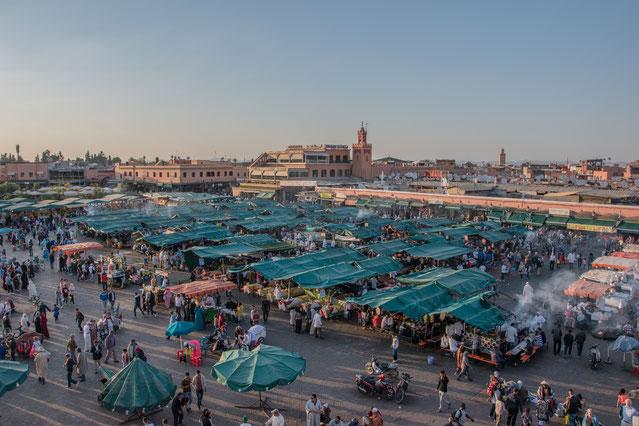Jemaa el Fna: il cuore di Marrakech